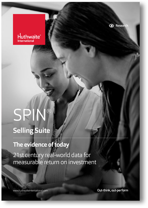 Sales Skills Training - SPIN® Selling model - Evidence of return on investment. SPIN® process developed by Huthwaite International