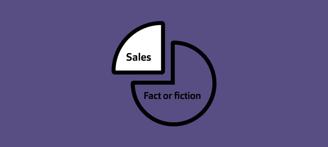 Sant eller Falskt? Topp 10 myterna inom försäljning