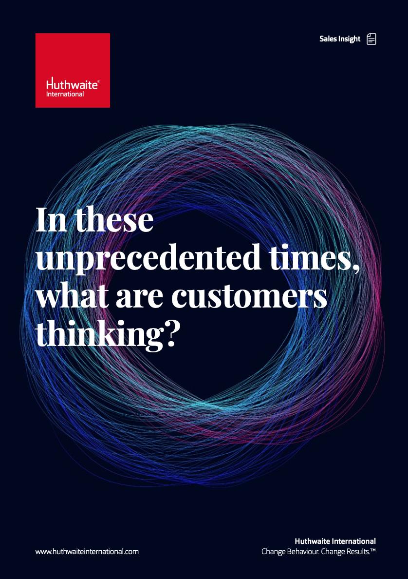 I dessa annorlunda tider – vad tänker kunderna?